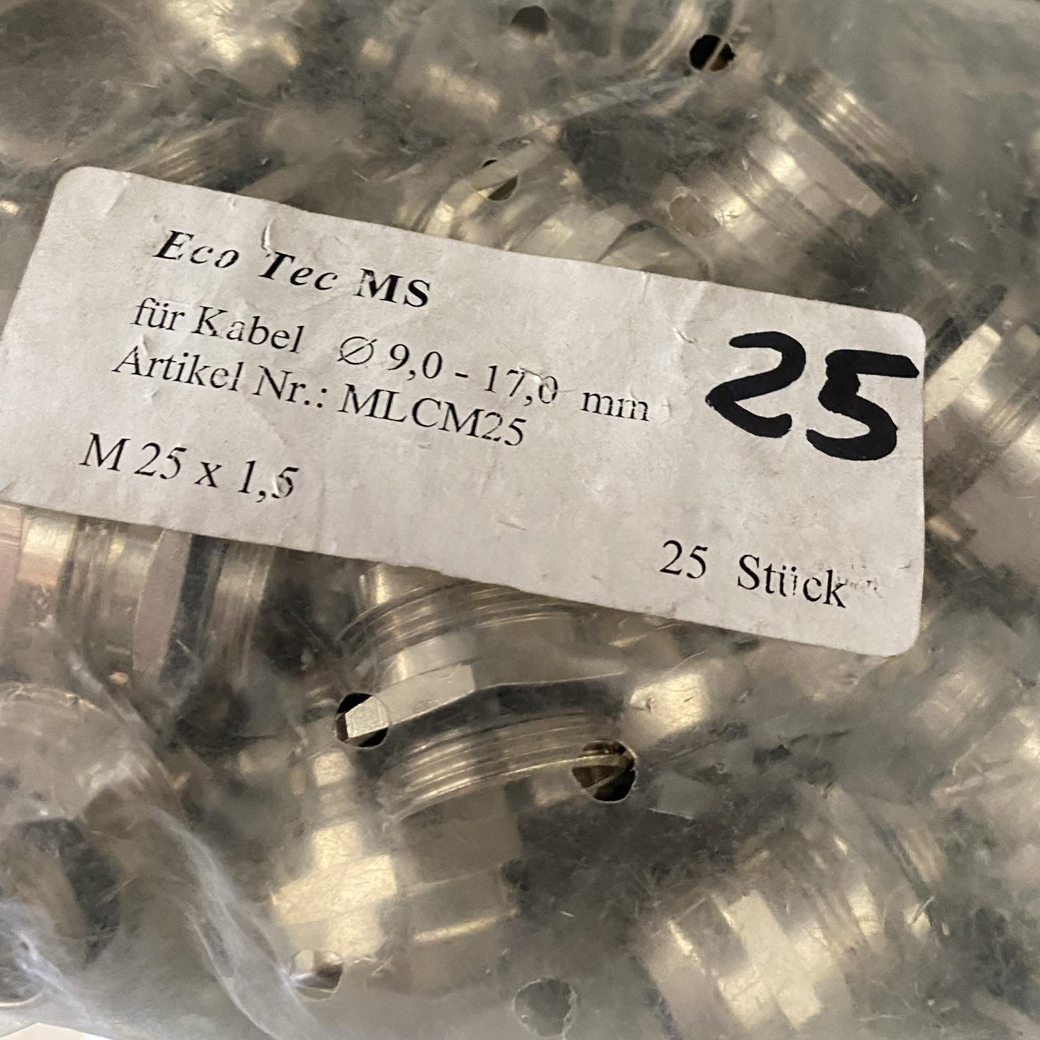 PRESSACAVO M25X1,5 OTTONE