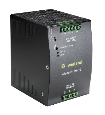 Alim.Monof. Wipos 1×115/230Vac / 24Vdc